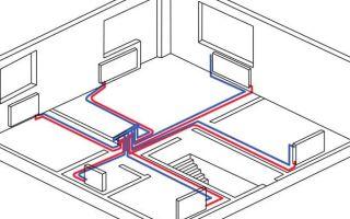 Горизонтальная и вертикальная разводка отопления в МКД