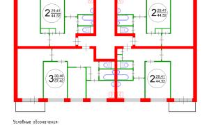 Определяем несущую стену в панельном доме