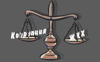 «Коммунальная коррупция» и методы борьбы с ней