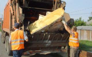 Вывоз крупногабаритного мусора: особенности и условия процедуры