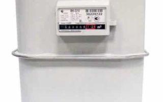 Счетчики газовые g10 g16 g25