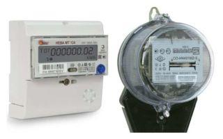 Акт осмотра прибора учета электроэнергии