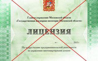 Кто вправе лишать лицензии УК МКД?