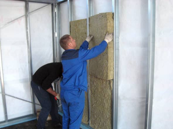 Как утеплить стену в квартире панельного дома изнутри?