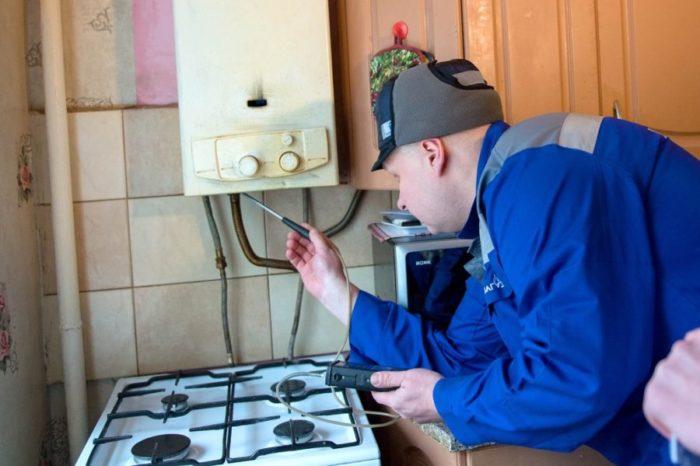 Диагностика газового оборудования в жилых домах
