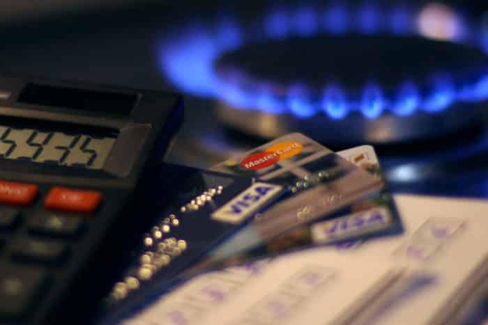 оплата за газ