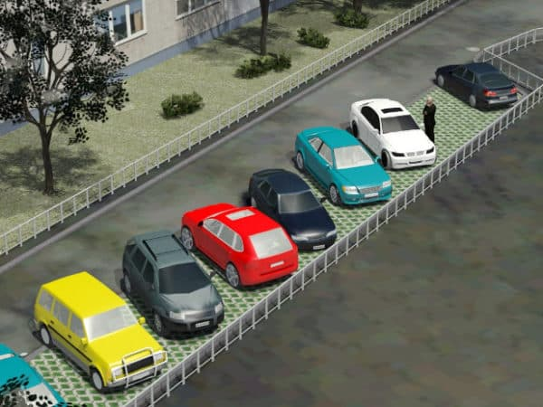 Правила парковки на придомовой территории многоквартирного дома