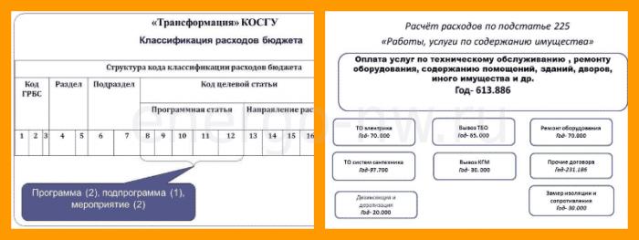 225 КОСГУ