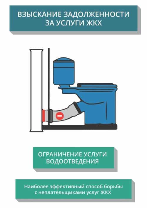 Ограничение водоотведения должникам