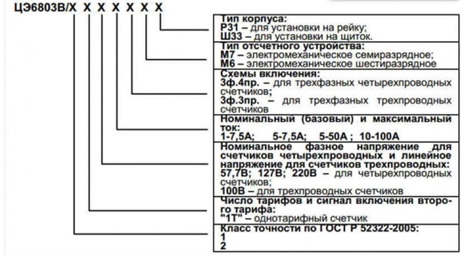 СЧЕТЧИК ЦЭ6803В