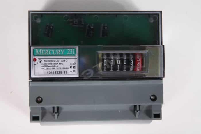 Счетчик Электроэнергии Меркурий 231 ам 01 трехфазный