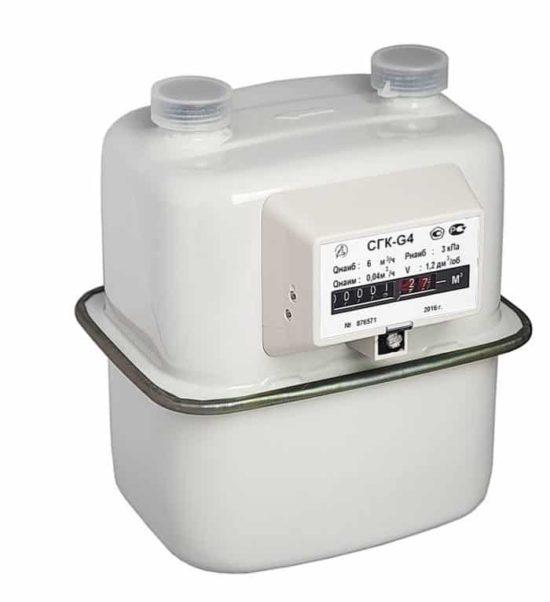 Газовый счетчик СГК G4