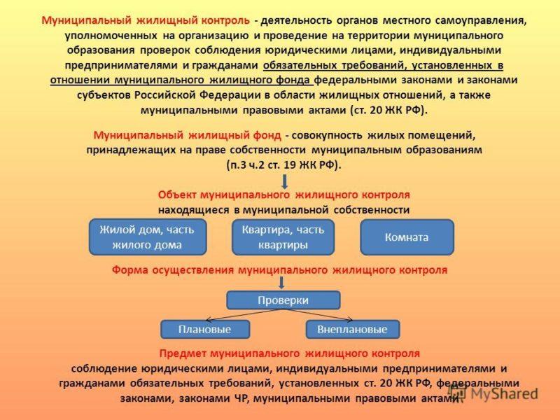 муниципальный контроль
