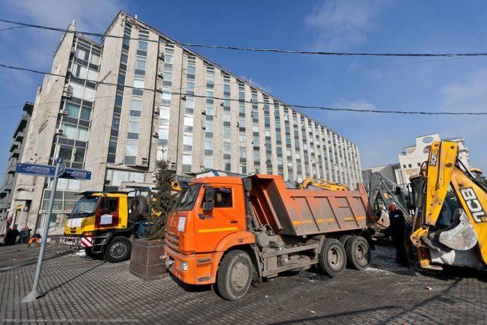 Стоимость вывоза строительного мусора