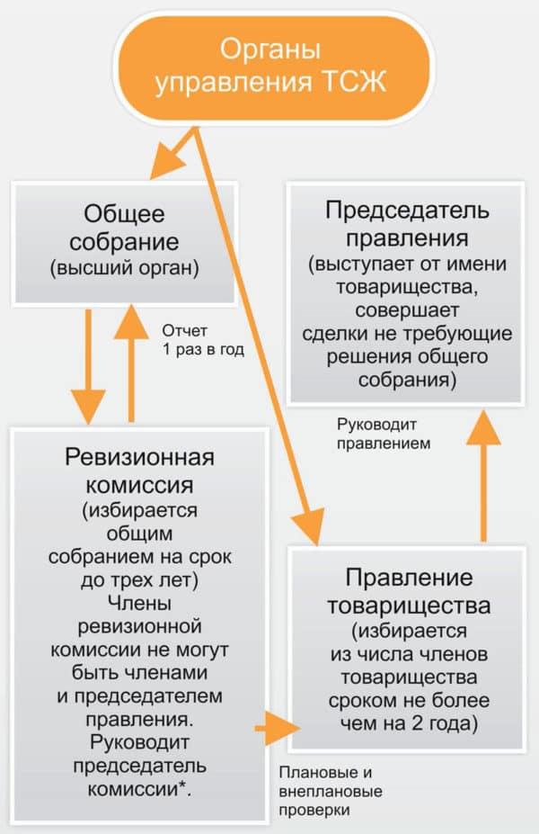 органы управления тсж