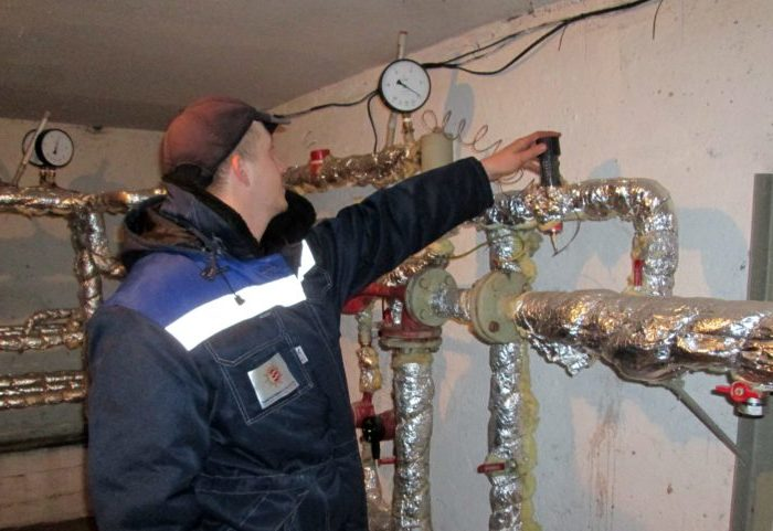 проверка системы отопление