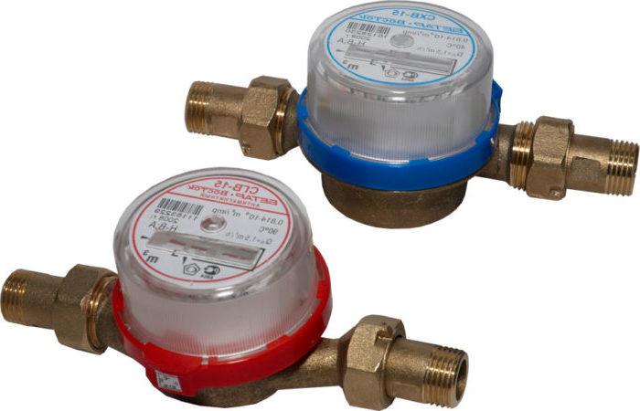 Акт замены счетчика воды: образец