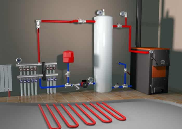 система автономного отопления