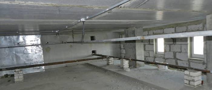 Технический этаж многоквартирного жилья: